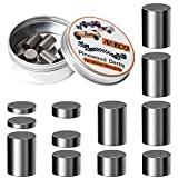 Aneco 3.625 Ounce Tungsten Weights Pinewood Derby Weights Pinewood Derby Car Weights Cylinders Weights in Assorted Sizes to Make The Derby Car