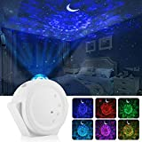 B-right Star Projector Lights, Night Light Projector Touch & Voice Control Moon and Star Lights 3-in-1 LED Laser Projector 13 Lighting Effects Nebula Cloud Projector for Kids Adult Gift Bedroom Party