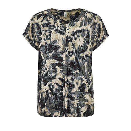 SOYACONCEPT dames blouse korte mouw SC-Gaga 1