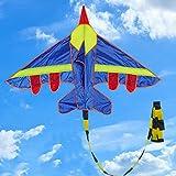 BGH Forma ER-NMBGH Avión de Nylon de Verano al Aire Libre Cometas Cometas Juguetes voladores Cometa para los niños los niños, Adultos