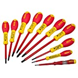 Stanley 562573 10-piece Fatmax Insulated Screwdriver Set