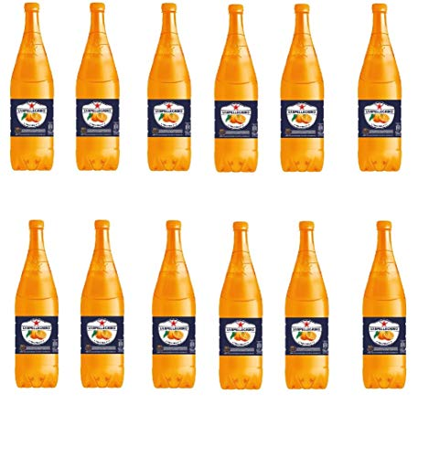 12x San pellegrino PET Flasche Dose 1,25 L L'aranciata orange Orangenlimonade