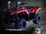 2014-19 Rancher 420 Warrior Riser Snorkel kit Without LED Light By SYA 0040