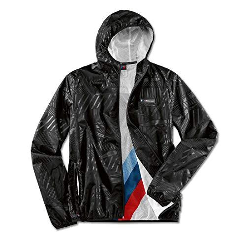 BMW Motorsport Unisex Rain Jacket (Large) Black