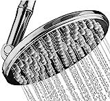 Shower Head | Rainfall High Pressure 9.5ΓÇØ w/Adjustable Extension Arm | 109 Self-Clean