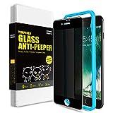SmartDevil Anti-Spy Protector Pantalla de iPhone 7 Plus/iPhone 8 Plus,Cristal Templado, Vidrio Templado [Fácil de Instalar] [Anti-Peek] [Garantía de por Vida] para iPhone 7 Plus/iPhone 8 Plus
