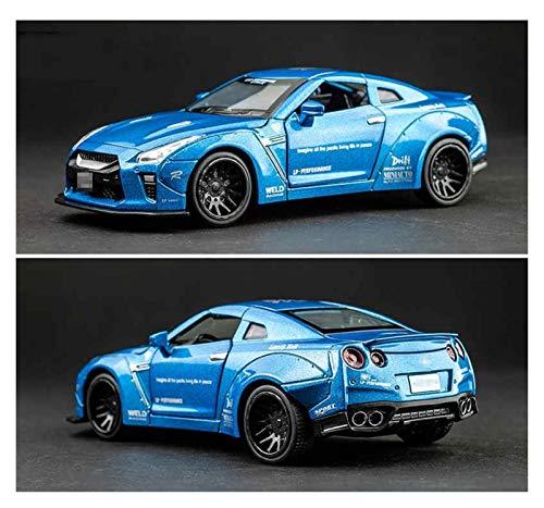Aleación Niño Coche Deportivo 1:32 Para Nissan Para GTR Race Alloy Car Modelo Diecasts & T-oy Vehicles T-oy Cars Juguetes Para Niños Para Niños Regalos Chico Juguete para niños pequeños niños niñas re