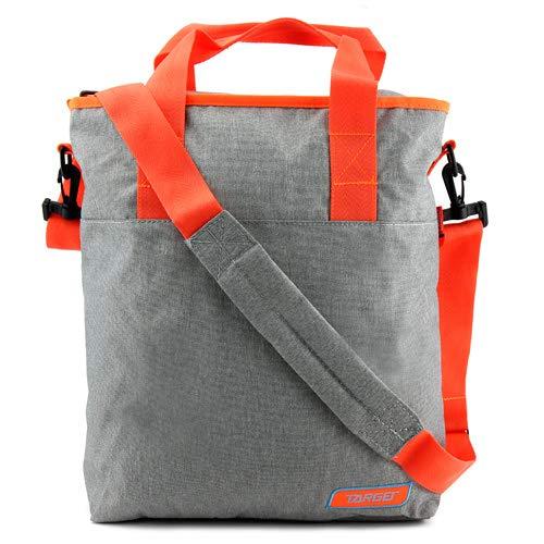 TARGET Kinder Shoulder Bag Melange Mercury Rugzak, oranje/grijs, 12 liter