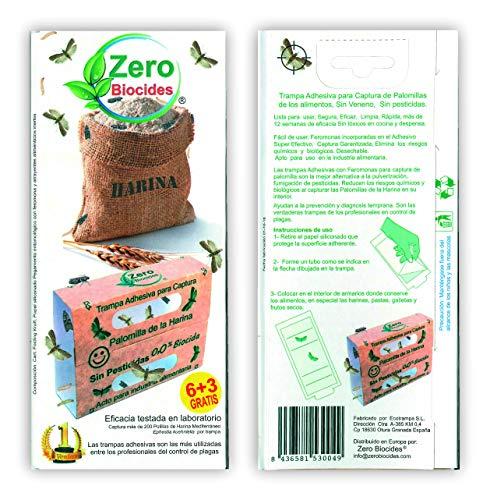 Zero Biocides 9 Trampa para Polilla de los Alimentos Fabricas en España