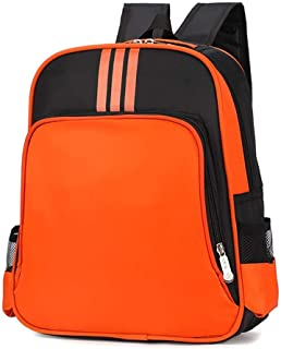 FYXKGLa Schoolbags, schoolbags, Backpacks, Children's Backpacks, Training, Counseling (Color : Orange)