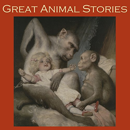 Great Animal Stories audiobook cover art