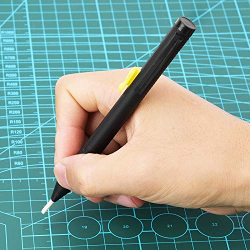 KUIDAMOS 2 lápices de Tela para Coser con Tiza de Corte Gratuito, la línea es Uniforme y Fresca, para Confeccionar, Coser, acolchar, Hacer Manualidades, bolígrafo de Cuero
