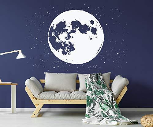 Volledige maan sterren sterrenbeeld muur sticker dier sterren muur Sticker Sky Wall Art C31