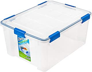 ziploc 60 qt weathershield storage box