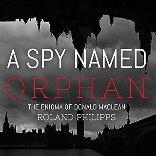 A Spy Named Orphan audiobook cover art