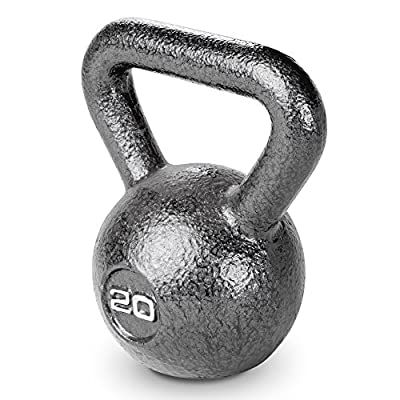 Marcy HKB-020 Hammertone Kettle Bell, Black, 20 lb from IMPEX