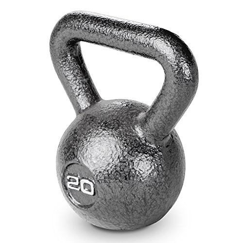 Marcy Unisex's Hammertone Kettle Bell 20 lbs. -Workout Weights HKB-020, Black
