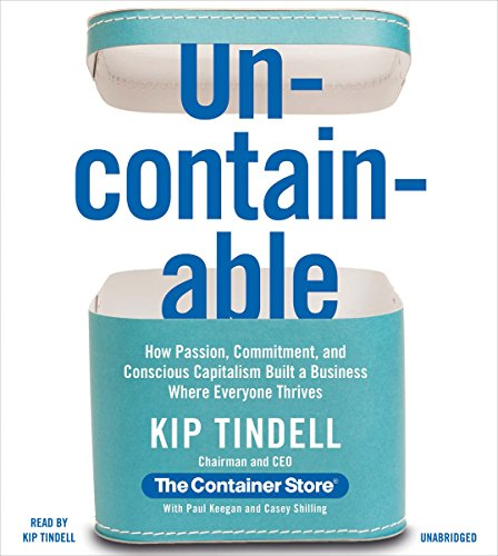 Uncontainable audiobook cover art