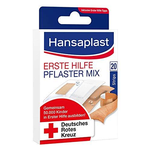 HANSAPLAST Erste Hilfe Pflaster Mix 20 St Pflaster