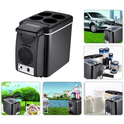 12V 6L Refrigerador Congelador Calentador Mini Coche Congelador Nevera Eléctrica Refrigerador Calentador...