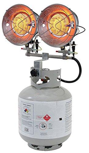 Dayton 5RCC1 Gas Fired Tank Top Heater, LP
