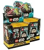 Lego Star Wars - Serie 1 Trading Cards - 2 expositores (100 sobres de cartas, en alemán)