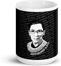RBG Mug Ruth Bader Ginsburg Coffee Mug for Lawyers, Law Students, Judges
