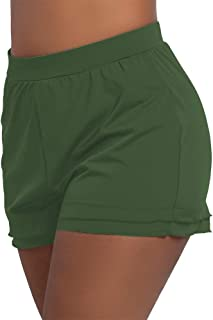 Women's Swimsuit Shorts Plus Size Boardshorts Girls Swim...