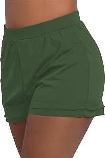 KEEPRONE Women's Swimsuit Shorts Plus Size Boardshorts Girls Swim Bottoms Swimwear Trunks