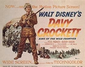 Pop Culture Graphics Davy Crockett, King of The Wild Frontier Poster Movie 11x14 FESS Parker Buddy Ebsen William Bakewell