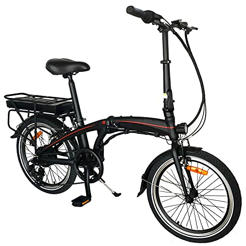 Bici Pieghevole Bike Bicicletta pieghevole piegabile City bike elettrica schermo LCD Bicicletta pieghevole con batteria rimovib