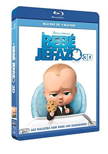 The Boss Baby (EL BEBÉ JEFAZO - BLU RAY 3D -, Spanien Import, siehe Details für Sprachen)