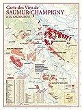 Carte des vins de Saumur Champigny et du Saumurois