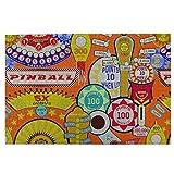 MDFE Pinball 1000 piezas rompecabezas para adultos y adolescentes, para actividades de aburrimiento, para el cerebro, regalo de decoración del hogar