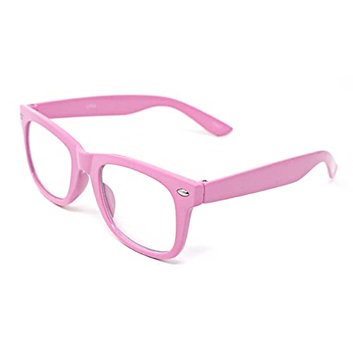 685d7144e88 Ultra ® Classic Style Multi Colour Clear Lens Costume Glasses Classic  Frames Perfect for Costumes Parties