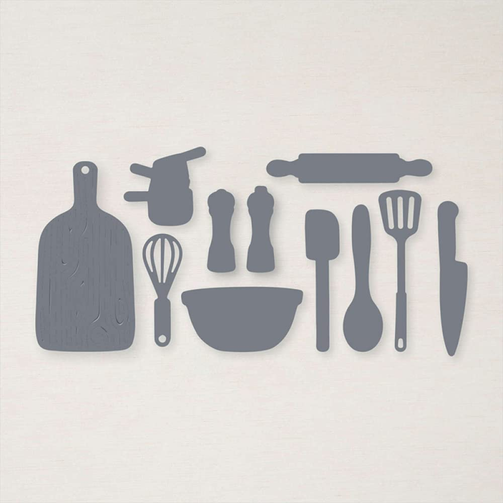 Various Cooking Tools Dies for Scrapbooking DIY Making Max 59% OFF In a popularity Embo Card