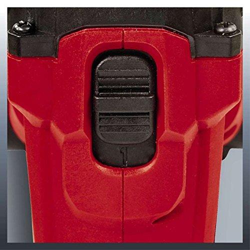 Einhell 4513846 Avvitatore TC-CD 18-2 Li (1 Batteria agli Ioni di Litio, 1,5 Ah, 2 velocità, 38 NM, Luce LED), 18 V, Rosso, Nero
