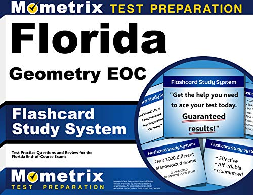Florida Geometry Eoc Flashcard Study System Florida Eoc Test Practice Questions Exam Review For The Florida