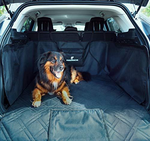 FRIEDRISCHS Kofferraumschutz Hund - Wasserabweisend & Reißfest - Hochwertiger Hunde Kofferraumschutz mit Antirutschbelag - Hundedecke Auto Kofferraum - Hundematte Auto - Mit Extra Ladekantenschutz