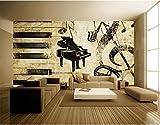 Papel Pintado Pared Dormitorio Fotomurales Decorativos Pared Tapiz De Pared 3D Rose Piano Vintage Papel Pintado Cuadros Habitacion Bebe Posters Mural Pared