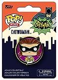 Batman Pop! Pins - 1966 Catwoman Pin Standard, metal,