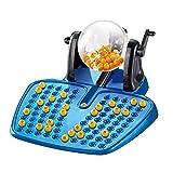 Juego de Bingo Tradicional, Juego de Máquina de Números de Lotería de Bingo Familiar 90 Número 38 Tarjetas de Bingo, Juego de Fiesta para Adultos, Familias, Niños