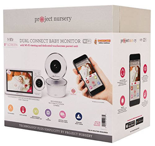 51uS0S+7 RL The Best Video Baby Monitors with Smartphone Apps 2021