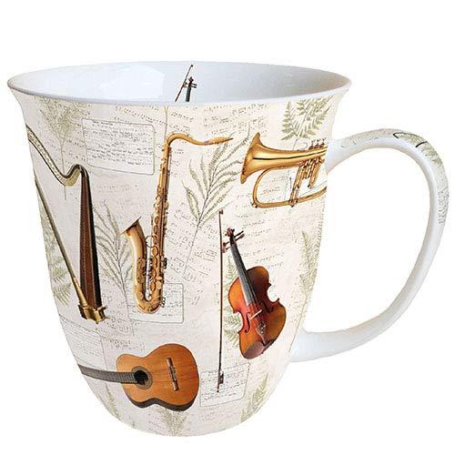 Ambiente Taza (0,4 L), diseño de instrumentos musicales