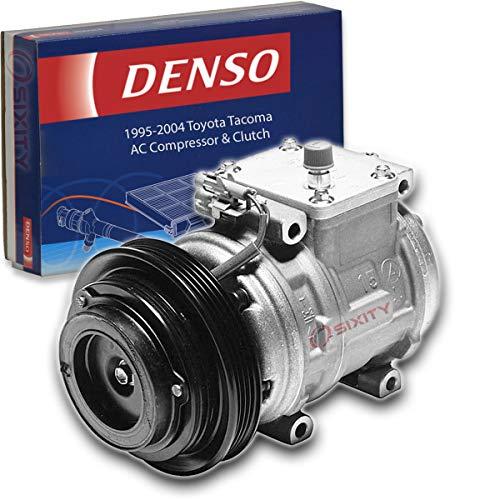 Denso AC Compressor & Clutch for Toyota Tacoma 3.4L V6 1995-2004 HVAC Air Conditioning Heat