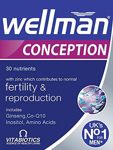 Vitabiotics Wellman Conception Tablets 30 Tablets (Pack of 2)
