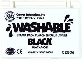 Center Enterprises Inc. Washable Stamp Pad, Black