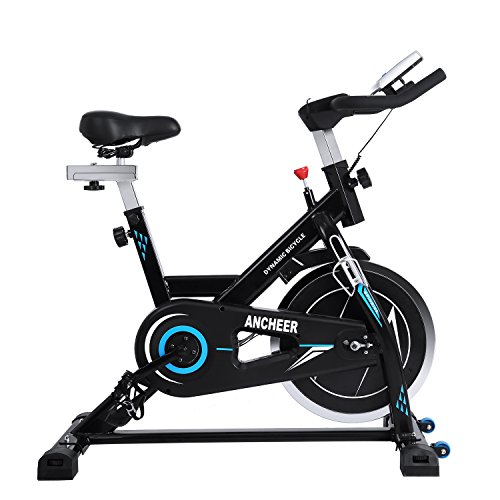 Bicicleta de Spinning, Bicicleta Estática, Bicicleta de Ciclismo Interior Estacionaria, Bicicleta de Ciclo Cardiovascular en Casa, Bicicleta de entrenamiento con volante de inercia de 22 kg