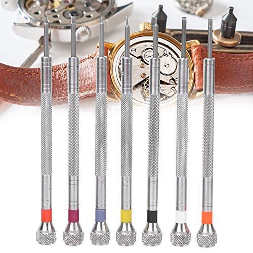7-delig horloge schroevendraaiers Professioneel horloge Repareren Onderhoudstoolkit Horlogeband Gespverwijderaar Elektronica Gereedschap Reparatieset