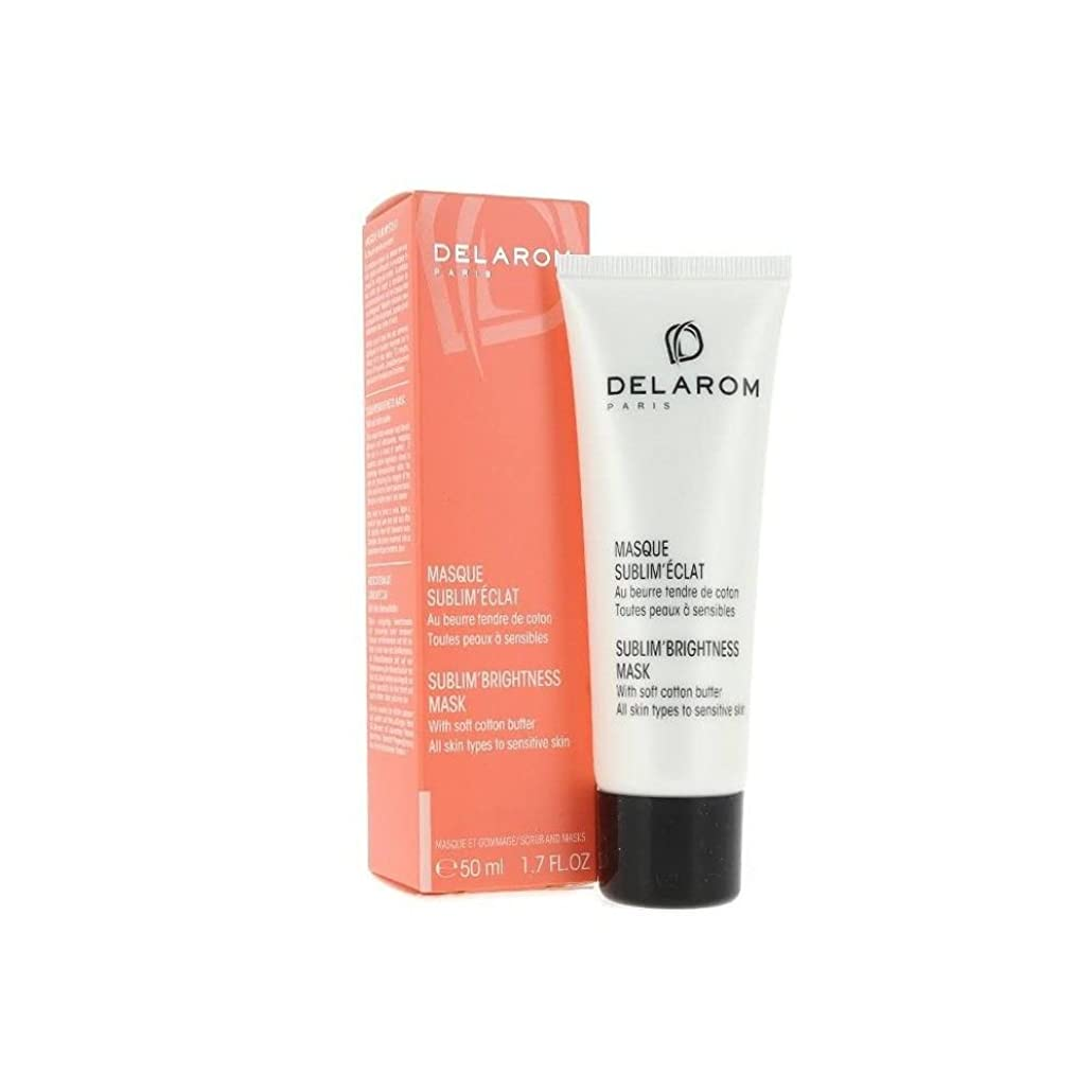 ファンタジー国民大惨事DELAROM Sublim' Brightness Mask - For All Skin Types to Sensitive Skin 50ml/1.7oz並行輸入品